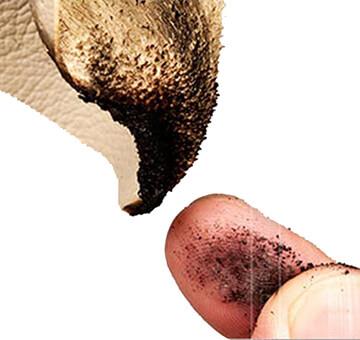 Cách phân biệt da thật da giả bằng lửa