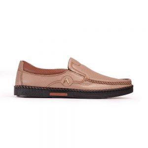 Giày mọi Giày Lười Kashikoi Nâu Kem
