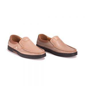 Giày Lười Kashikoi Nâu Kem